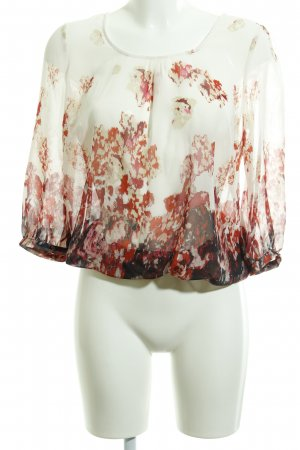 More & More Blouse transparente motif abstrait style Boho