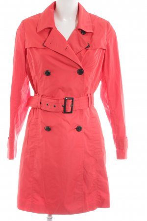 More & More Trenchcoat rot Business-Look