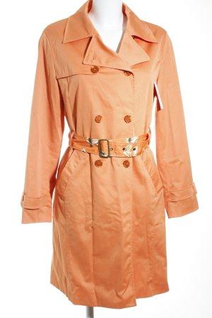 More & More Trenchcoat apricot klassischer Stil