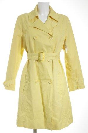 More & More Trenchcoat gelb Elegant