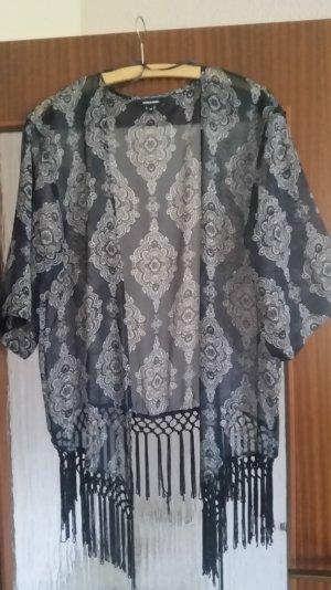More & More Tunika, Kimono, multi blau