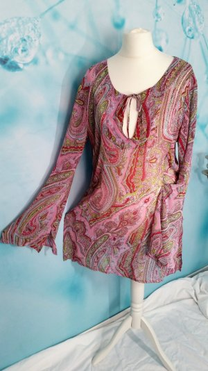 More & More Tunika Longbluse Hippie Paisley Gr M 40