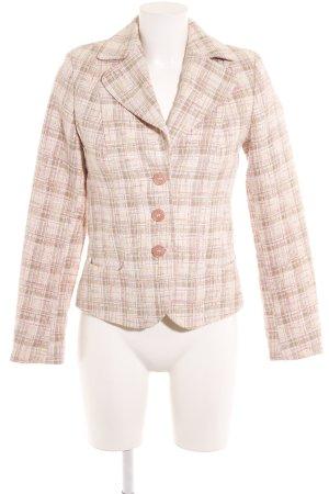 More & More Tweed blazer geruite print vintage uitstraling