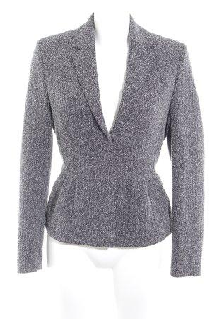 More & More Tweedblazer schwarz-wollweiß Business-Look