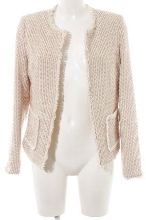 More & More Tweed blazer Webpatroon elegant
