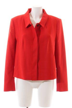 More & More Übergangsjacke rot klassischer Stil