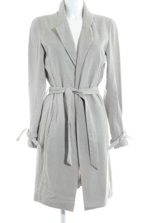 More & More Cappotto mezza stagione grigio chiaro stile da moda di strada