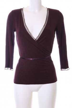 More & More Wickel-Bluse rot Casual-Look