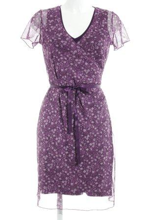 More & More Robe portefeuille motif de fleur style romantique
