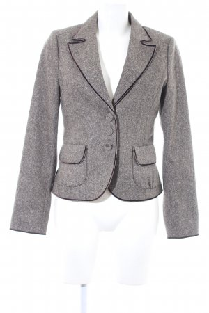More & More Wool Blazer grey brown-dark brown flecked Brit look