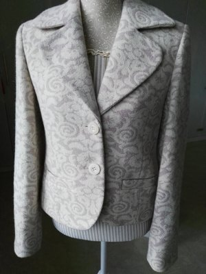 Wool Blazer natural white-dusky pink