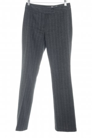 More & More Wollhose anthrazit meliert Business-Look