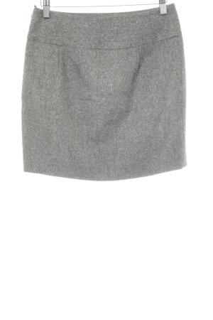More & More Gonna di lana marrone-grigio puntinato stile casual