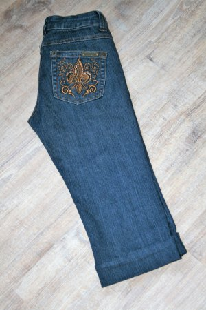 Morgan 3/4 Length Jeans dark blue-blue