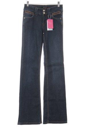 Morgan Jeans svasati blu scuro stile casual