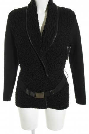 Morgan Cardigan schwarz Business-Look