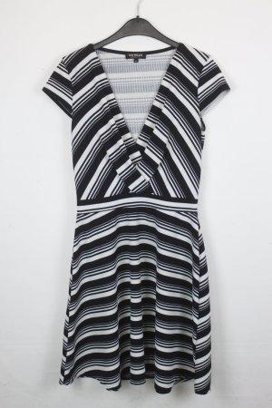 MORGAN DE TOI Kleid Gr. M schwarz weiß (18/2/498)