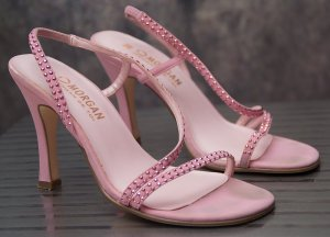 MORGAN DE TOI ~ ROSA PUMPS SANDALEN HIGH HEELS ~ SIZE 36