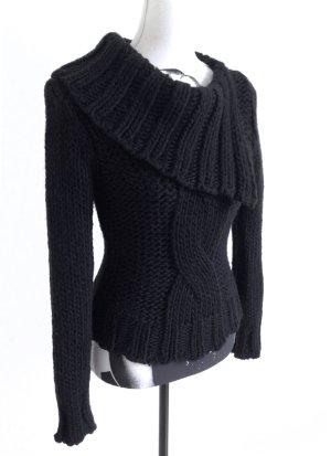 MORGAN Fornarina Strick Winter Pullover Zopfmuster Miss Sixty – XS