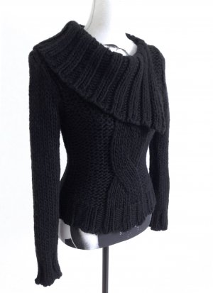 MORGAN Fornarina Strick Winter Pullover Zopfmuster Miss Sixty – XS