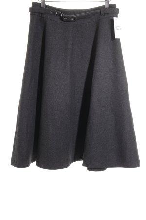 Morgan Jupe évasée gris foncé-argenté style festif