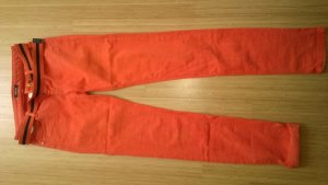Morgan Jeans slim orange coton