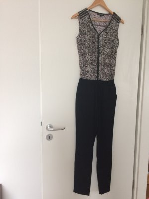 Morgan Jumpsuit schwarz/bordeaux