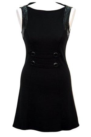 Morgan Kleid in Schwarz