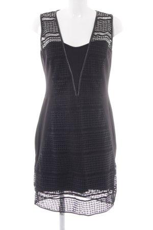 Morgan Kurzarmkleid schwarz Elegant
