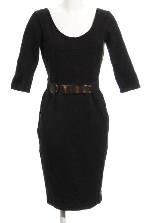 Morgan Vestido de manga larga negro