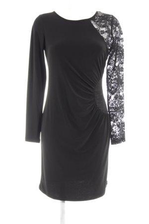 Morgan Langarmkleid schwarz Elegant