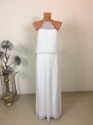 Morgan Maxi Kleid Langes Sommerkleid Gr. M/38-40 Ecru Weis