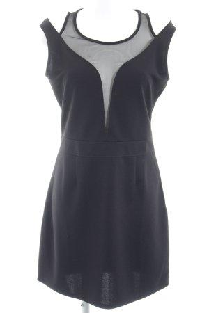 Morgan Minikleid schwarz extravaganter Stil