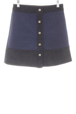 Morgan Minirock blau-schwarz Elegant