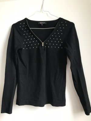 Morgan V-Neck Sweater black