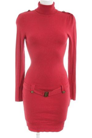 Morgan Vestido de tubo rojo look casual