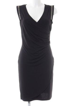 Morgan schulterfreies Kleid schwarz Casual-Look