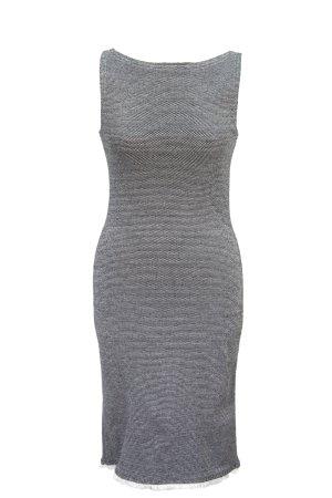 Morgan schwarz und weiß figurbetontes Kleid