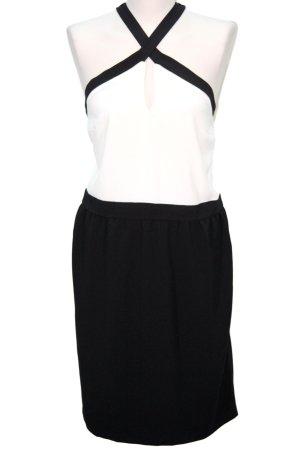 Morgan Schwarz-weißes Kleid