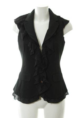 Morgan Chaqueta estilo camisa negro elegante