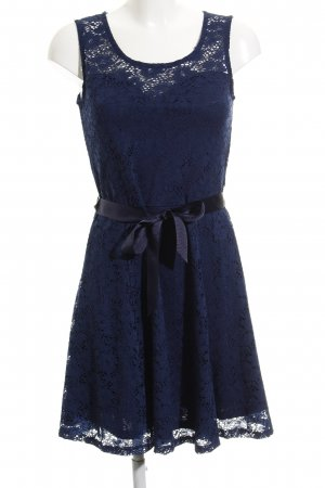 Morgan Vestido de encaje azul look casual