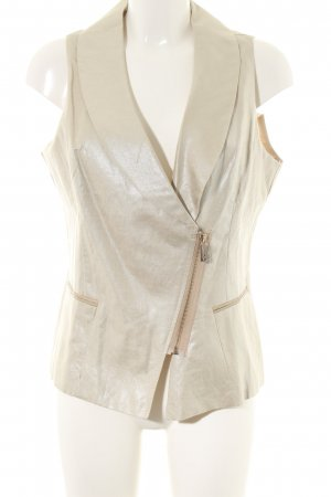 Morgan Quilted Gilet gold-colored elegant