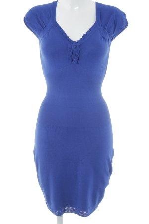 Morgan Strickkleid blau Elegant