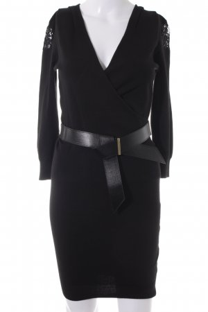 Morgan Strickkleid schwarz Elegant