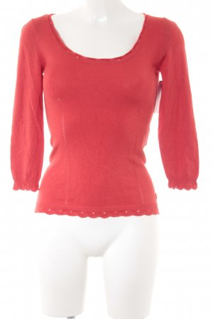 Morgan Strickpullover rot-hellrot Casual-Look