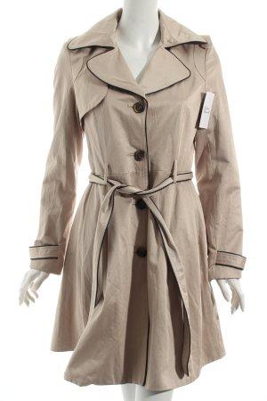 Morgan Trenchcoat beige-schwarz klassischer Stil