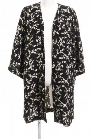Dressing Gown flower pattern fluffy