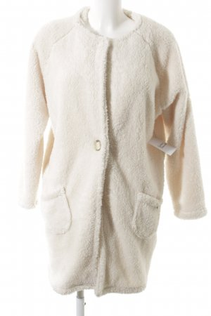 Dressing Gown cream fluffy