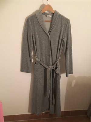Dressing Gown grey cotton