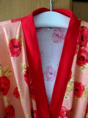 Dressing Gown red cotton